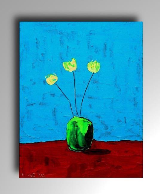 Art: Flowers 3 by Artist Amanda Hone