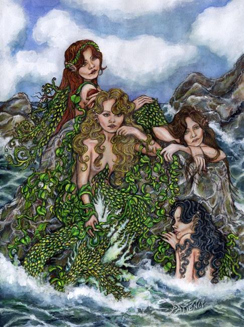 Art: Seagreen by Artist Patience