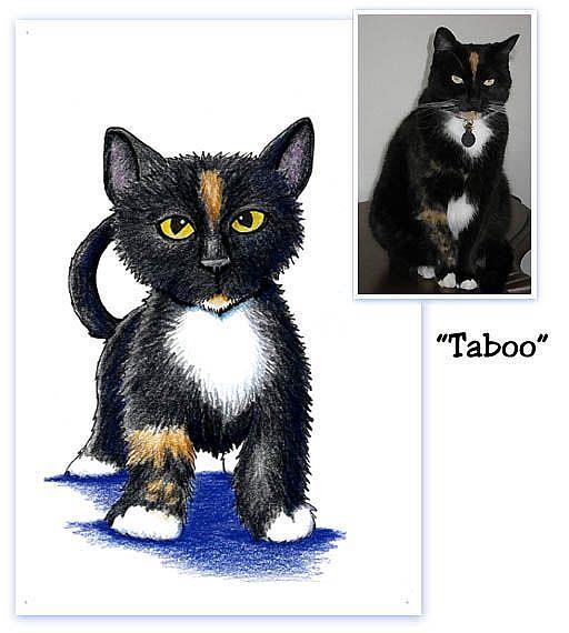 Art: Kari Tirrell's Taboo by Artist KiniArt