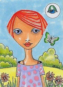 Art: Eye See You by Artist Sherry Key