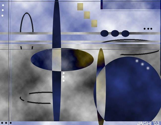 Art: Midnight Tango by Artist Shirley Inocenté
