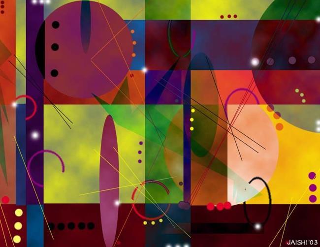Art: Celebration by Artist Shirley Inocenté