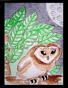 Detail Image for art Owl 1 (SOLD)