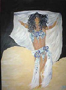 Art: Fahima by Artist Deena Z. Raybuck