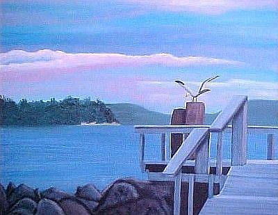 Art: Peace of Whidbey by Artist KiniArt