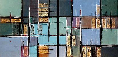 Art: blue1 by Artist Michael A Lang