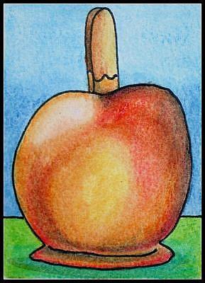 Art: Toffee Apple by Artist Amanda Hone