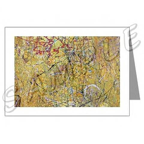 Art: ABSTRACT ART GREETING CARDS MOHAVE DAWN EBSQ wwao by Artist Dawn Hough Sebaugh