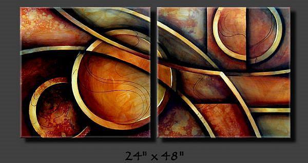 Art: ab cert 4 by Artist Michael A Lang