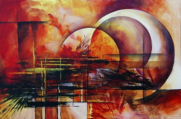 Art: A APPLE by Artist Michael A Lang