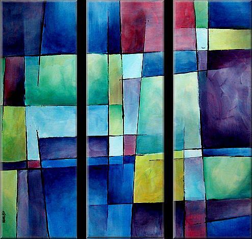 Art: abc cert 2 by Artist Michael A Lang