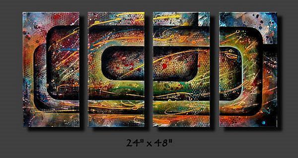 Art: az cert 2 by Artist Michael A Lang