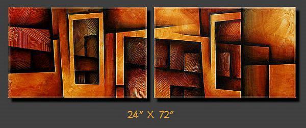 Art: aza cert 8 by Artist Michael A Lang