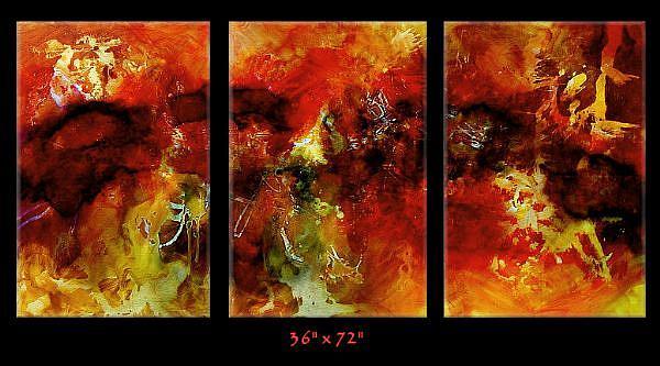 Art: aza cert 4 by Artist Michael A Lang