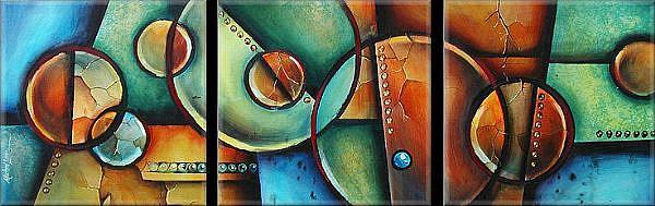 Art: aza cert 2 by Artist Michael A Lang