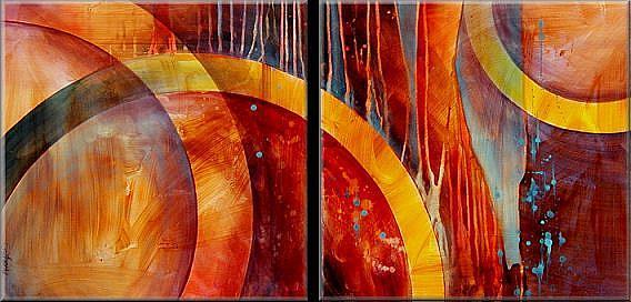 Art: aza cert 1 by Artist Michael A Lang
