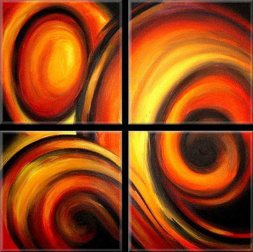 Art: AQ CERT 4 by Artist Michael A Lang