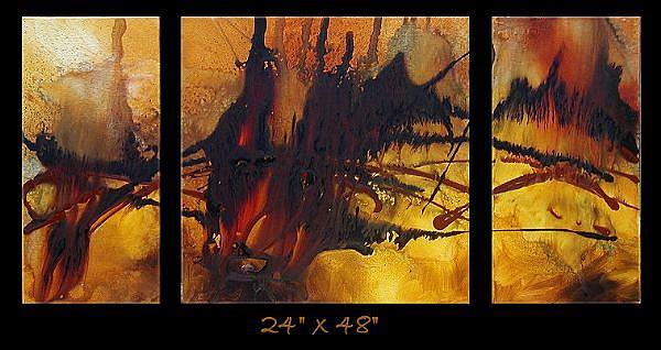 Art: a a cert 1 by Artist Michael A Lang