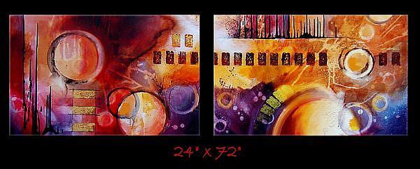 Art: a a a sert 6 by Artist Michael A Lang