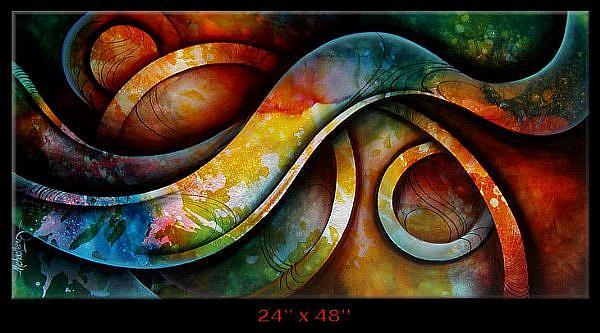 Art: a zert 5 by Artist Michael A Lang