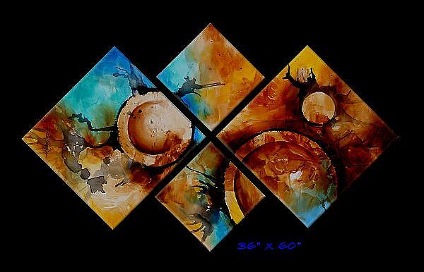 Art: a a zerty 3 by Artist Michael A Lang