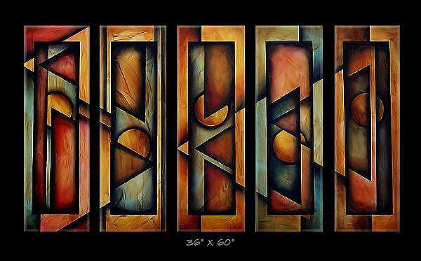 Art: az cert 1 by Artist Michael A Lang