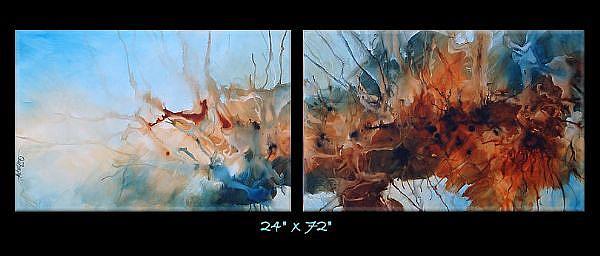 Art: az cert 3 by Artist Michael A Lang