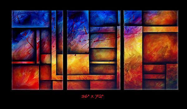 Art: az cert 4 by Artist Michael A Lang