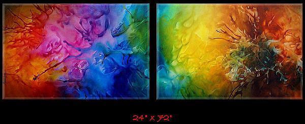 Art: aaa x zert 1 by Artist Michael A Lang