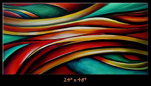 Art: a z serts 2 by Artist Michael A Lang