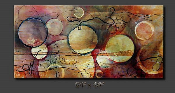 Art: aa apple 3 by Artist Michael A Lang