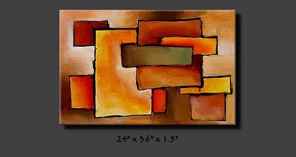 Art: aa apple 5 by Artist Michael A Lang
