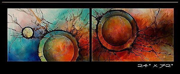 Art: aa apple 9 by Artist Michael A Lang