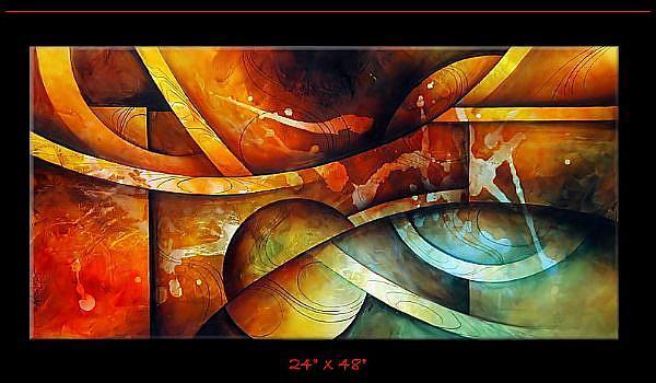 Art: abz cert 1 by Artist Michael A Lang