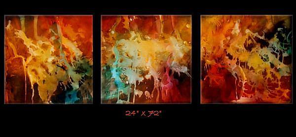 Art: abz cert 4 by Artist Michael A Lang