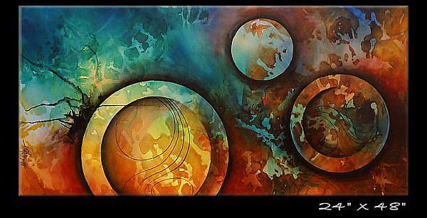 Art: abz cert 9 by Artist Michael A Lang