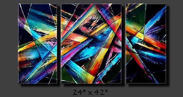 Art: abz cert 10 by Artist Michael A Lang
