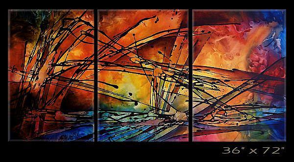 Art: KIK 5 by Artist Michael A Lang