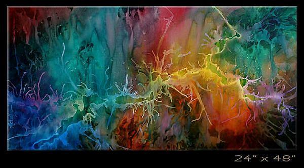 Art: apple 1 by Artist Michael A Lang