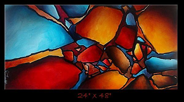 Art: apple 2 by Artist Michael A Lang