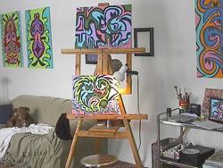 Art: easle1 by Artist PJ Gorman