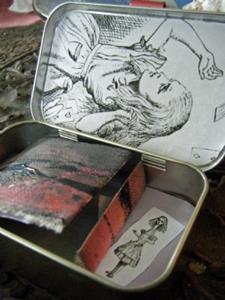 Detail Image for art The Altoids Alice Tin