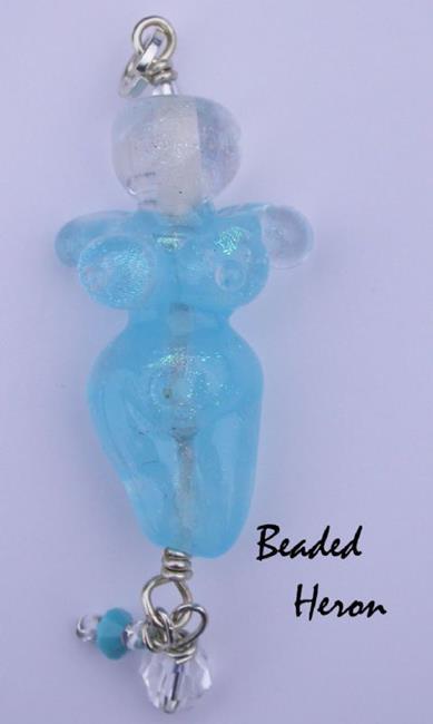 Art: Ice Goddess by Artist Stephanie M. Daigle