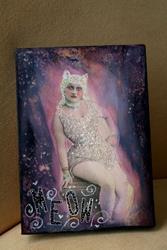 Art: Meow by Artist Aimee Marie Wheaton
