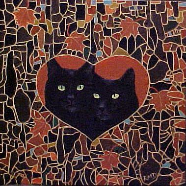 Art: AUTUMN LOVE by Artist Rosemary Margaret Daunis