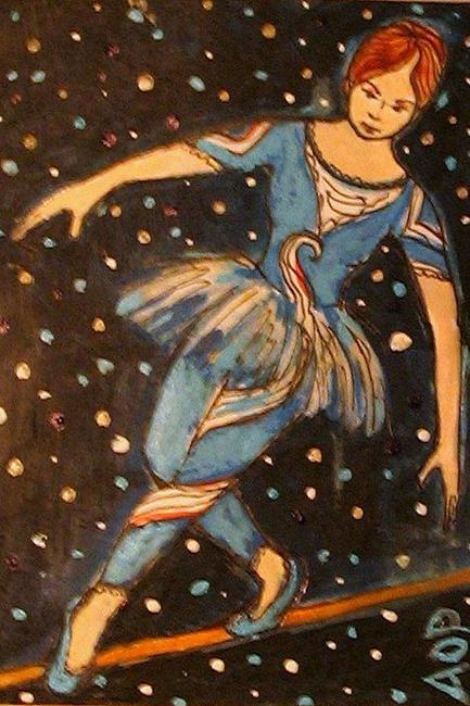 Art: Nibblefest Art Contest, ACEO:  Big Top by Artist Patience