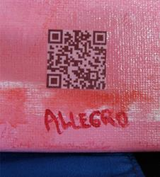 Art: QR_ILoveYou_QRSig.jpg by Artist Anthony Allegro