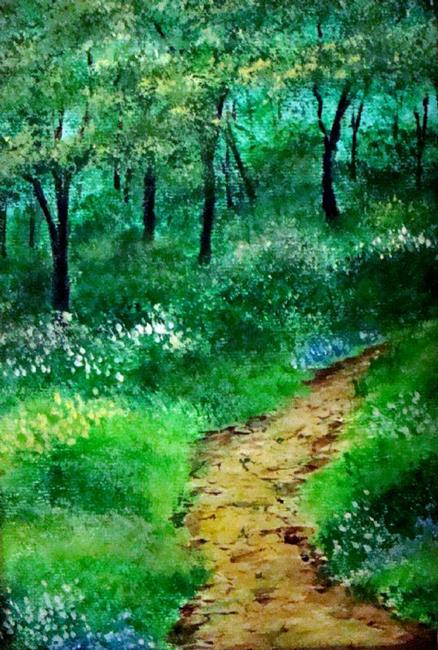 Art: THE PATH by Artist Leea Baltes