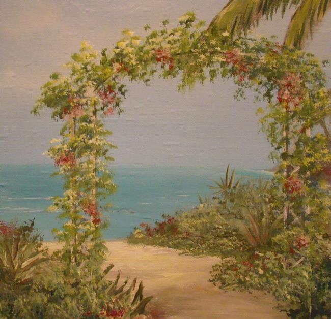 Art: Tropical Garden by Artist Leea Baltes