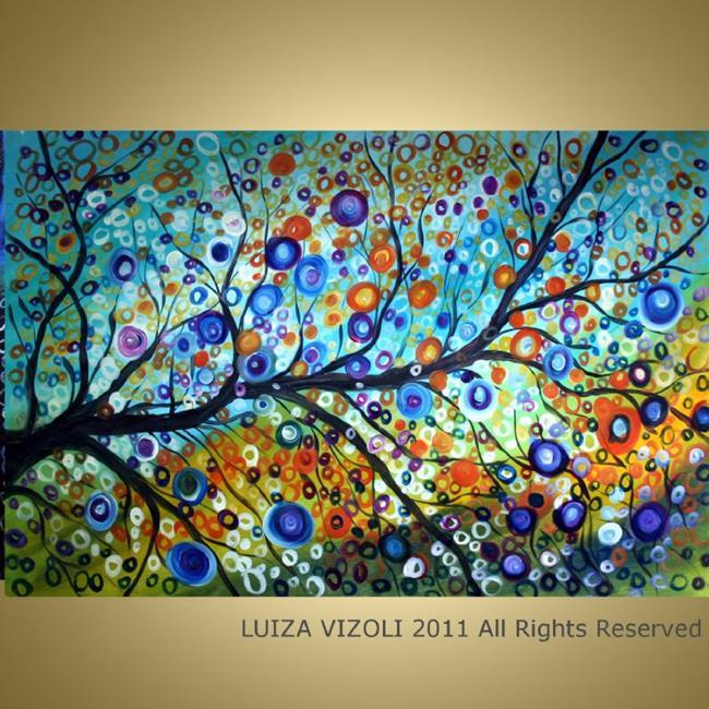 Art: SUMMER RAIN by Artist LUIZA VIZOLI